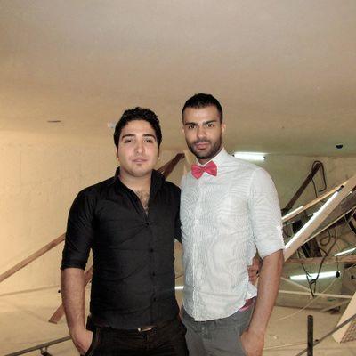 Me & Mehdi Boojari sare zabte clip :)