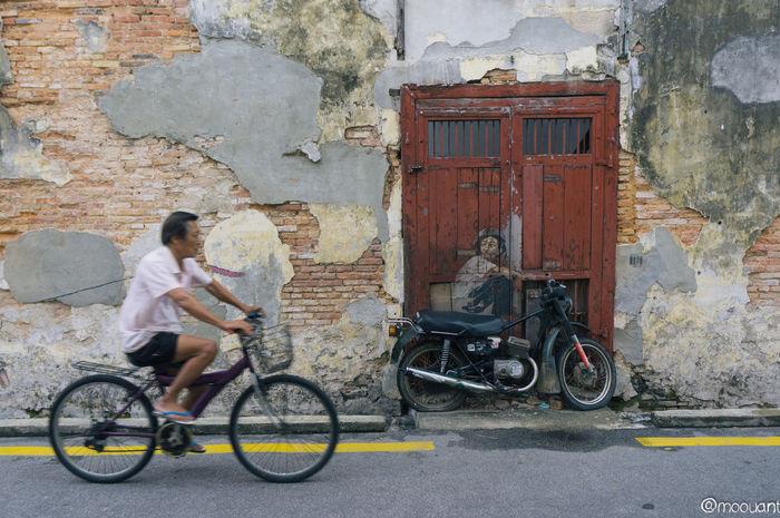 #bicycle #georgetown #malaysia #penang #penang Herritage# City Cycle Day First Eyeem Photo