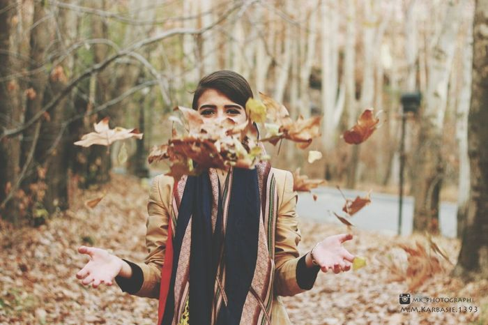 Girl Fall Fallen Leaves Smillegirl Happy My Friend Eyes Follow Me On Instagram: @mk_photographi