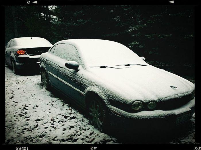 First snow. 12.21.12