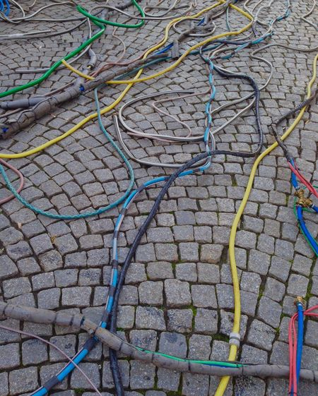 Colored cables