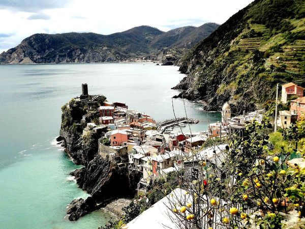 Cinque Terre, Italy :) Mountain Outdoors Cinque Terre Cinque Terre Italy Italia Mediterranean  Village Nature Houses Miles Away Miles Away