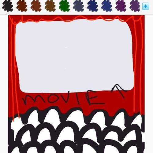 Drawing of screen