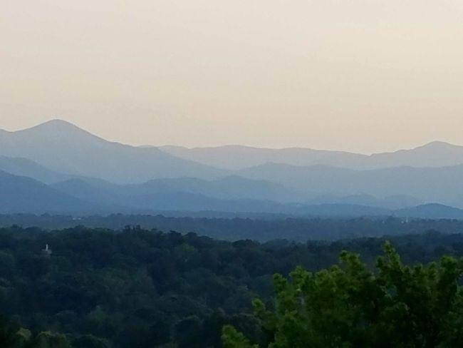 Pastel Nature Mount Mitchell Mountain Range Mountain View Mountains Mountains And Sky