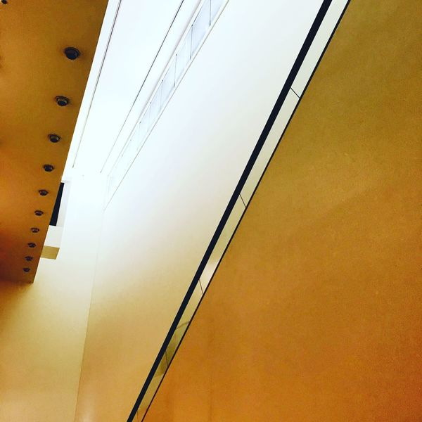 Museum lines Diagonal Lines Architecture Built Structure Building Exterior No People City Modern Day