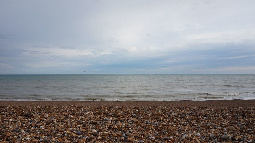 Beach Beauty In Nature Calm Cloud Cloud - Sky Cloudy Coastline Day Horizon Over Water Idyllic Nature No People Non Urban Scene Non-urban Scene Ocean Outdoors Remote Scenics Sea Seascape Shore Sky Tranquil Scene Tranquility Water