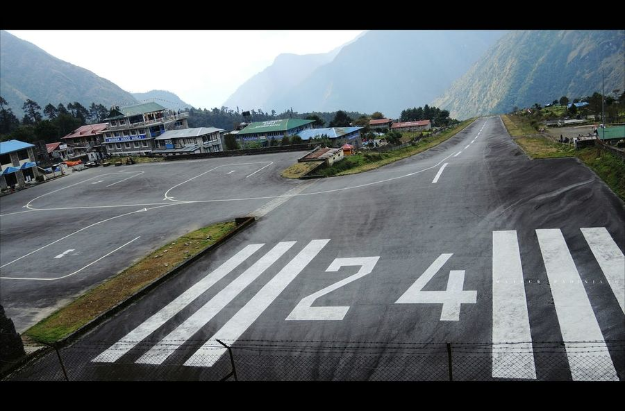 In The Terminal Lukla Nepal Travel Dangerous Trekking Ebc Trek Airport Runway Eyem Best Shots