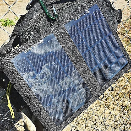New piece of Gear Goalzero Nomad7 Solar charger