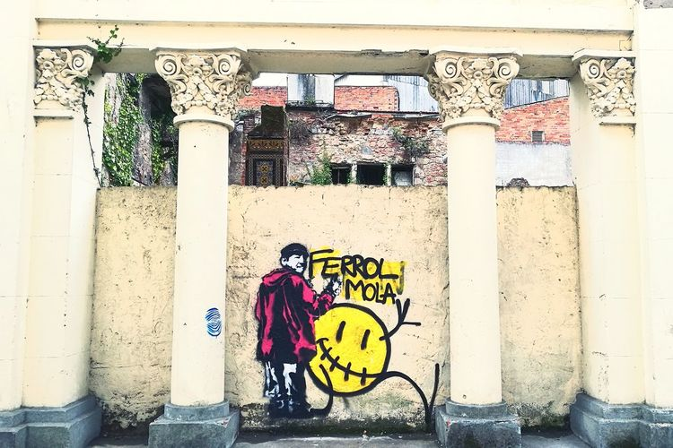 Ferrolmola Pachara Street Art Graffiti Outdoors Yatodounclasico