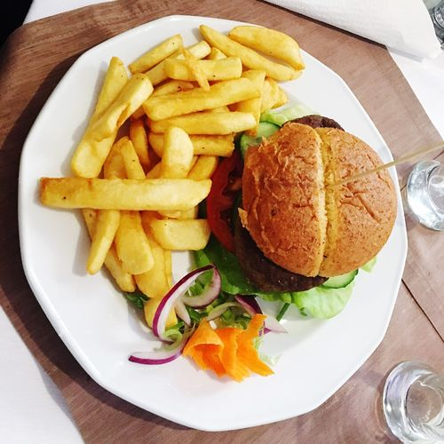 Food Hamburger Chips Gnam Gnam Poland Holiday Happiness Food And Drink Fast Food Love