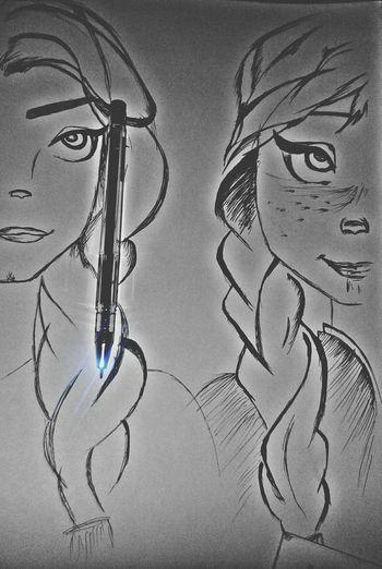 تصويري  نهى #رسم #رسمتي #رسوماتي #رسمي #سلويت #رسمات #كلنا_رسامين #غرد_برسمه من زود الطفش تقليد
