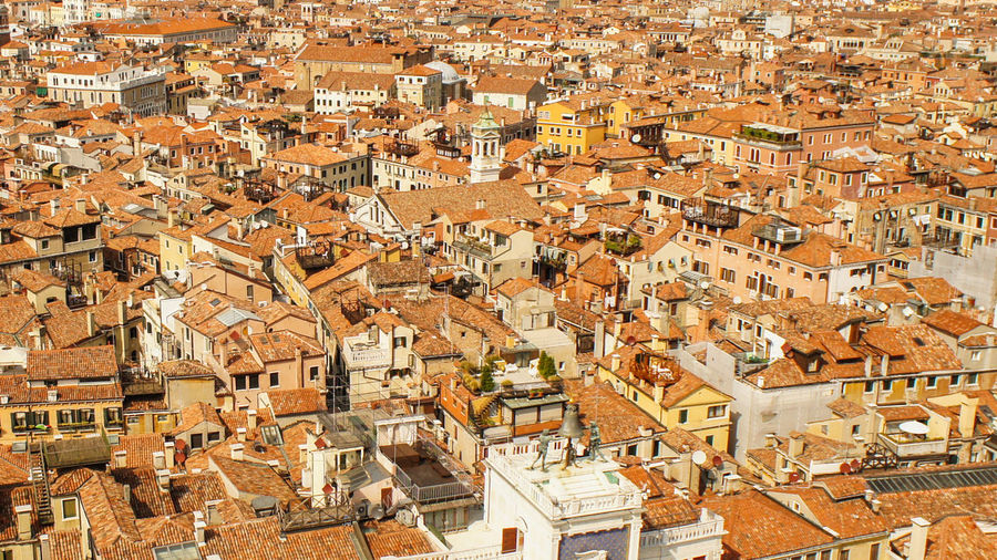 From the tower Aerial View Architecture Building Exterior City Cityscape Day Outdoors Residential Building Roof