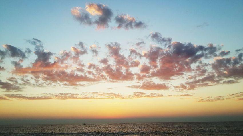 No filter needeed...vagator beach sunset Relaxinggoa Enjoying Life Hanging Out Hello World Protecting Where We Play