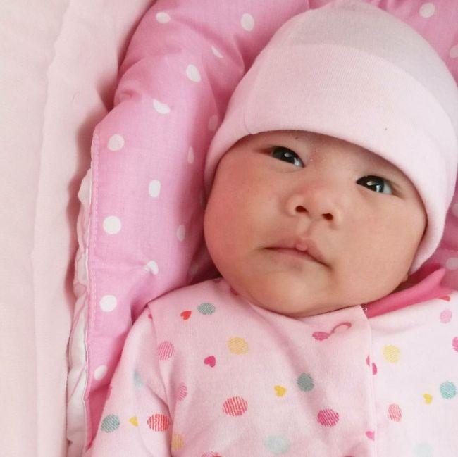Pink overload 😘 Pink 3MonthsOld Babygirl Baby Cute Milkfist EyeEmNewHere