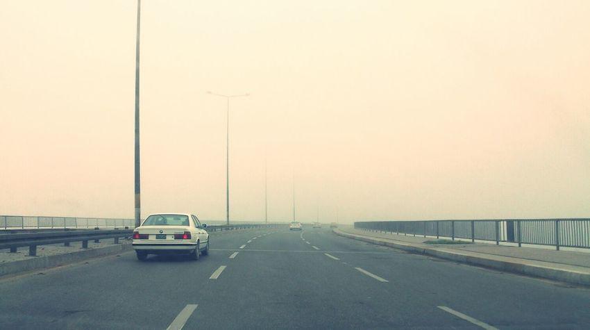 Bridge Foggy Morning Fog