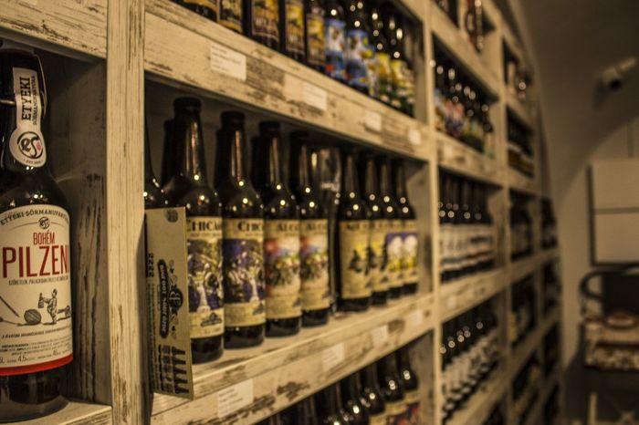 #beer #handmade Alcohol Bottle Day Drink Indoors  No People Shelf