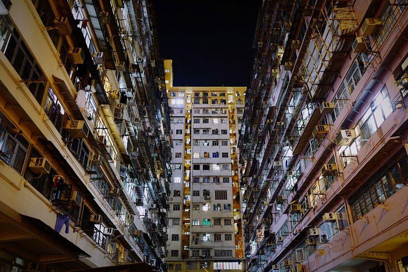 at Sai Wan Ho HongKong Discoverhongkong Leica Leicaq Nightphotography Buildings Street Photography Lookup EyeEmBestEdits Eyeemphotography EyeEm Gallery Eye4photography  Hello World 香港 夜景 Showcase: January The Architect - 2016 EyeEm Awards Pmg_hok