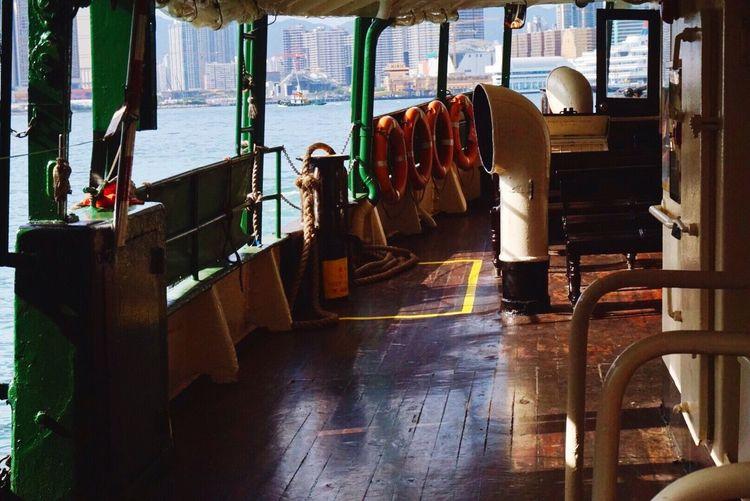 Interior Of A Ship In Asia