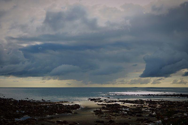 Cloud - Sky Horizon Over Water Beauty In Nature Sea Beach Sky Nature Scenics