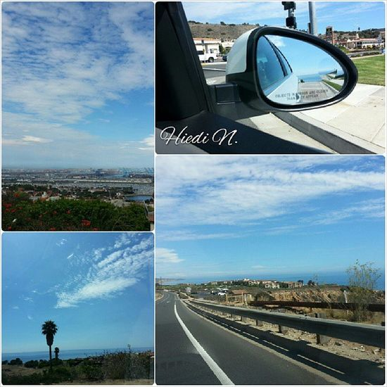 Cruisin' along the West Coast Sky_collection Sky Blue Sky Enjoying The View
