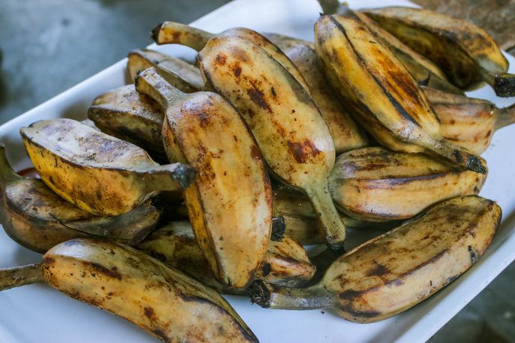 Steam Banana Saba Steam Banana Steam Banana Saba Banana Sab Food Freshness Seafood No People Snack Filipino Filipino Food Filipinofood