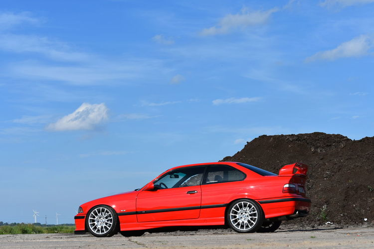 Bmw Vehicle Red