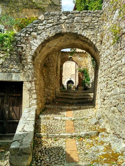 Built Structure Architecture Day Arch Sunlight No People Outdoors Building Exterior Rieti, Italy Labro