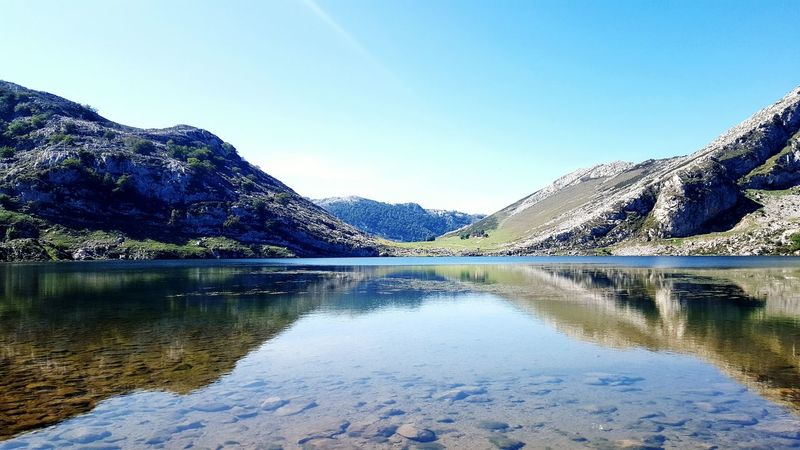 España Asturias Lagosdecovadonga Picosdeeuropa From My Point Of View