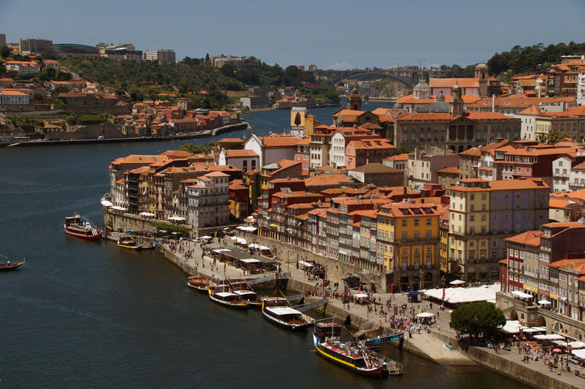 Douro River Portugal Porto Portugal 🇵🇹 Riverside Architecture City High Angle View Nature Nautical Vessel Outdoors River #urbanana: The Urban Playground Summer In The City