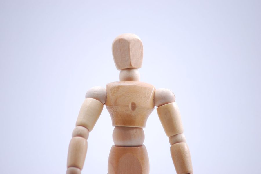 My little model Art And Craft Clear Sky Close-up Copy Space Craft Creativity Day Figurine  Focus On Foreground Human Representation Indoors  Male Likeness Mannequin No People Representation Sculpture Still Life Studio Shot Toy Wood - Material