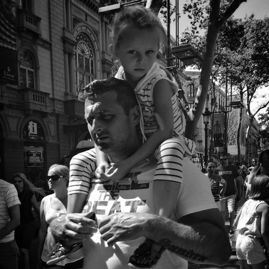 Streetphotography Monochrome Blackandwhite Streetphoto_bw Street Barcelona IPhoneography Street Life City Kids