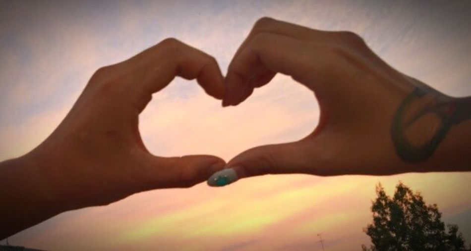 大好きだよ゚ .*♡*. ゚ IPhoneography Heart はーと Love 絆 永遠 繋がり