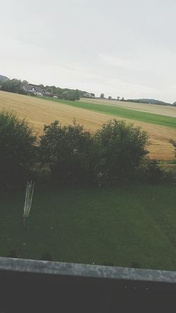 Ausblick Aufs Land Felder Hello World