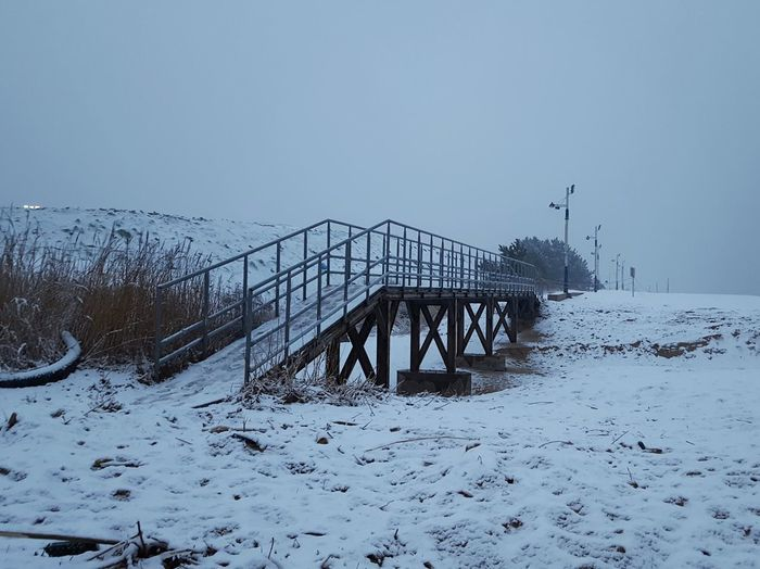 the Bridge Snow