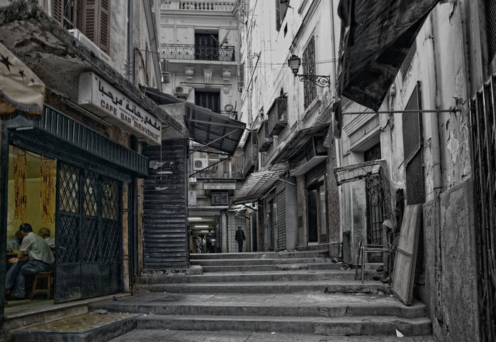 70s Algiers Backyard City Life City Street Cityscape Past Retro Architecture Black And White Building Exterior Built Structure Cafe City Clasic Color Key Day First Eyeem Photo No People Outdoors Seventies Urban Landscape The Week On EyeEm Been There. Paint The Town Yellow Connected By Travel An Eye For Travel The Street Photographer - 2018 EyeEm Awards