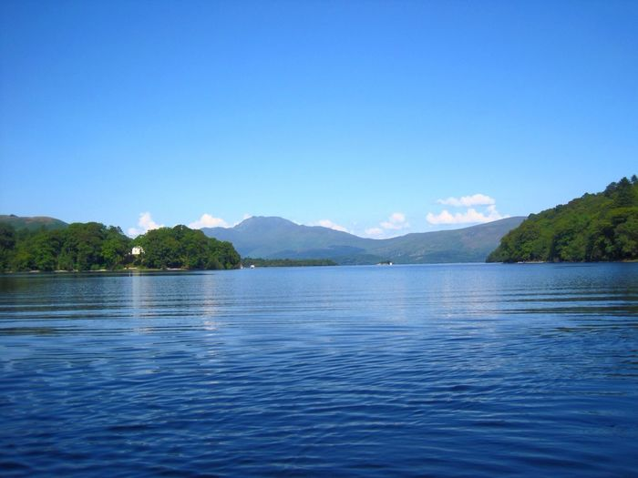 Cobalt Blue By Motorola Scotland Arrochar Alps Canoeing Lake