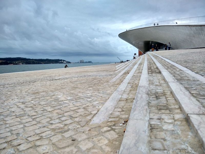 Maat Horizon Over Water Water Architecture Lisboa Lisboa Portugal Lisbon Portugal Rio Tejo River River Front Tagus River
