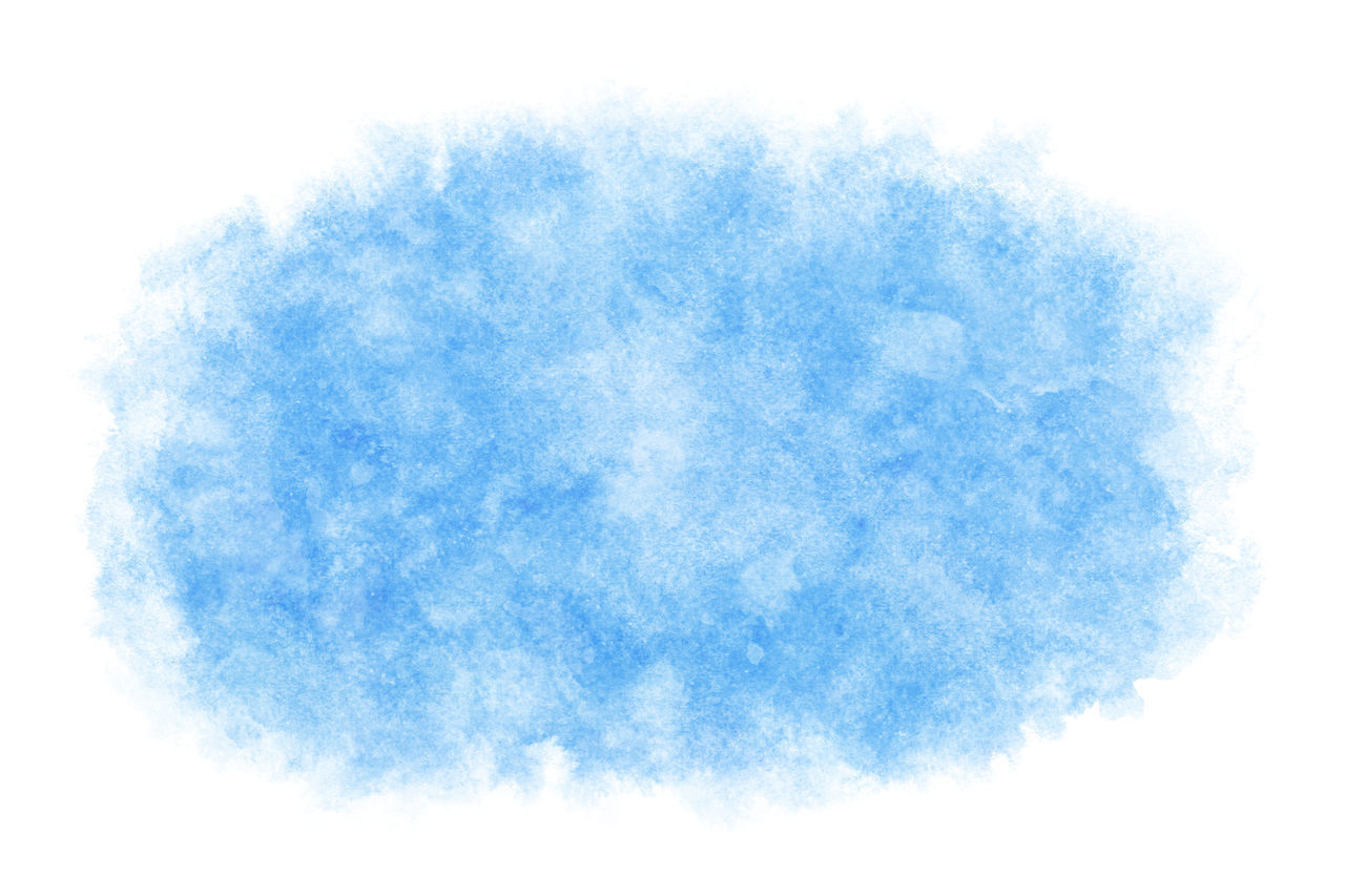 blue, cloud - sky, sky, no people, nature, cut out, abstract, textured, backgrounds, white color, studio shot, white background, outdoors, close-up, shape, lightweight, blue background, fluffy, digital composite, bright, textured effect
