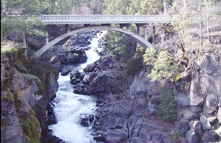 avenue of the boulders, shot from my drone Water Bridge - Man Made Structure Tree Footbridge Bridge Architecture Built Structure