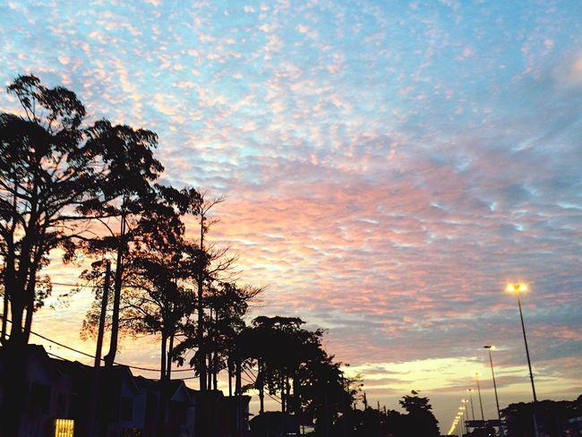 Sky Skyline Skyporn Sunset Blood Sky Tritone Gradient Gradiented Sky Gradientofcolours Colorful Colourful Sky