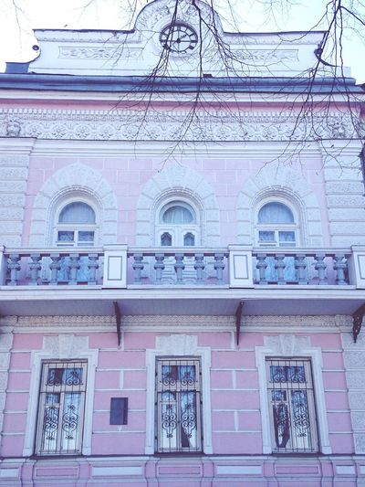 Photo Of The Day Houses Colors Pink Color Lifestyle Photo♡ Ярославль Places дом Pink розовый City города  дома Opening Day место город Image Photos Beautiful Life Life Life In Colors House Lifeisbeautiful Color