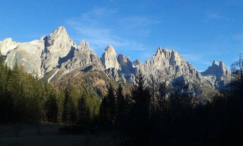 Idyllic Shot Of Dolomites Against Sky