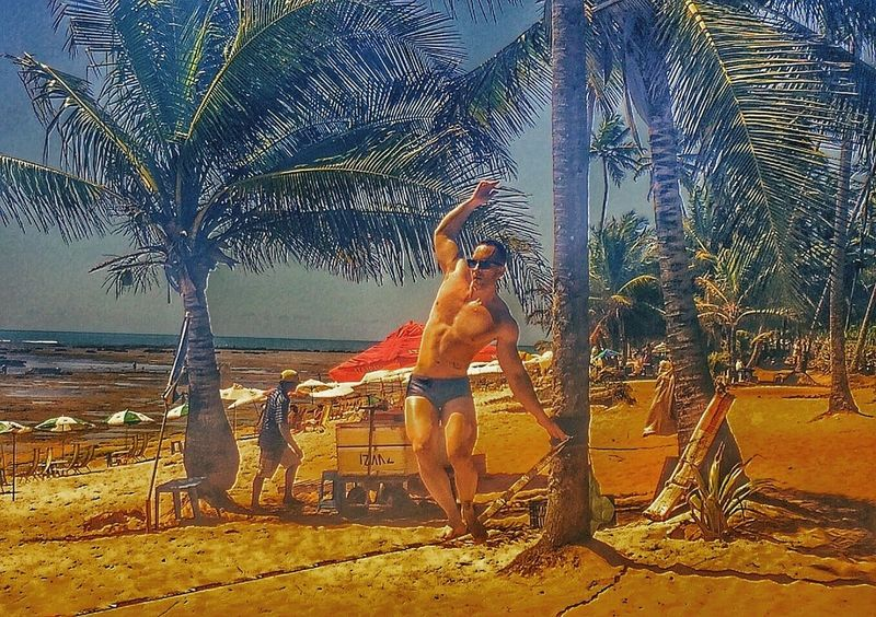 Slackline Beach Brazil Brazilian Workout