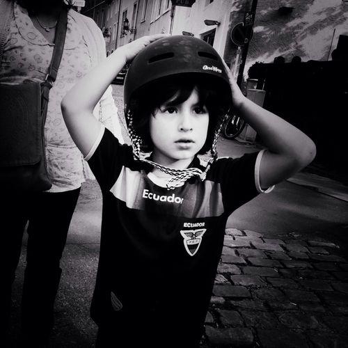 Childhood Boy Portrait Superboy