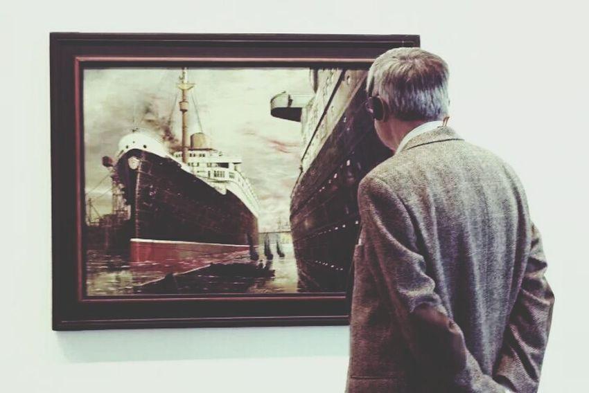 Art Painting Neue Nationalgalerie