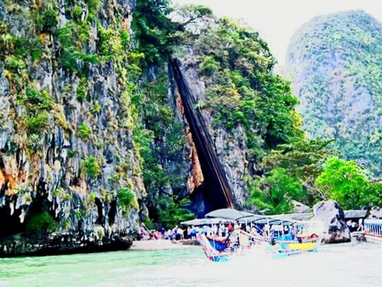 เขาพิงกัน พังงา Hello Sunday Ko Khao Phing Kan Phang Nga Thailand Natural Sea_collection Island Enjoying Life