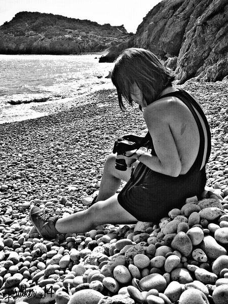 Black And White Blackandwhite On The Beach Life Is A Beach