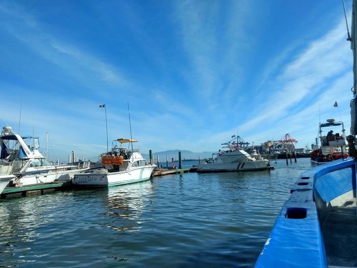 Ship Blue Water Sky Day Nature Photography Photo Amigos Moments Foto Moment Tranquility Momentos Mar Sea Paseomaritimo