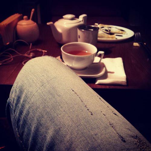 Tea Time Nutella Crepes