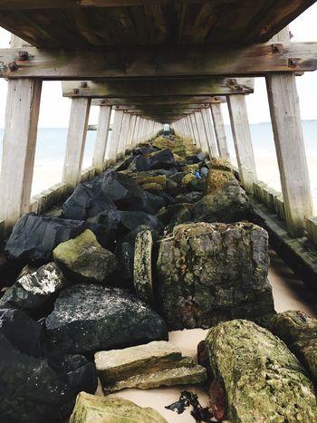 Hometown Glory 😍 Blyth Blyth Beach Sea Seaside Seaside_collection Beach Pier Winter